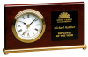 Horizontal Desk Clock Piano Finish Clocks