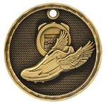 Track 3-D Series Medal 3-D Series