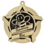 Spelling Bee Super Star Series Medal Academic Awards