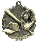 Baseball Wreath Series Medal Baseball Awards