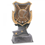 Baseball Shield Resin Award Baseball Awards