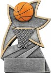 Basketball Jazz Star Resin Award Basketball Awards