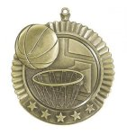 Basketball Star Series Medal Basketball Awards