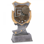 Basketball Shield Resin Award Basketball Awards