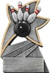 Bowling Jazz Star Resin Award  Bowling Awards