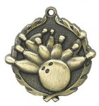 Bowling Wreath Series Medal Bowling Awards