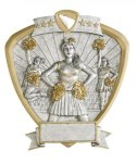Cheer Shield Resin Cheer Awards