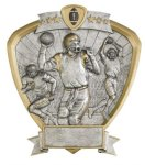 Football Shield Resin Football Awards