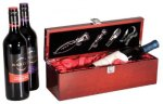 Wine Box Rosewood Piano Finish Gifts