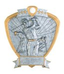 Golf, Male Shield Resin Golf Awards