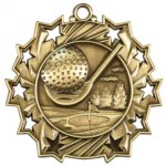 Golf Ten Star Series Medal Golf Awards