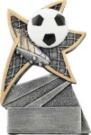 Soccer Jazz Star Resin Award Jazz Star Resin