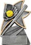 Softball Jazz Star Resin Award Jazz Star Resin