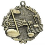 Music Wreath Series Medal Music Awards