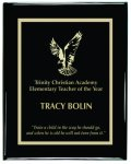 Black Piano Finish Plaque Recognition Plaques