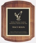 Barrel Plaque Walnut Recognition Plaques