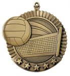 Volleyball Star Series Medal Star Series