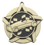 Pinewood Derby Super Star Series Medal Super Star Series