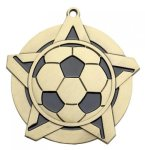 Soccer Super Star Series Medal Super Star Series
