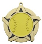 Softball Super Star Series Medal Super Star Series