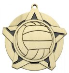Volleyball Super Star Series Medal Super Star Series