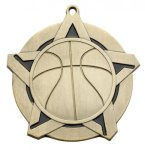 Basketball Super Star Series Medal Super Star Series