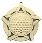 Golf Super Star Series Medal Super Star Series