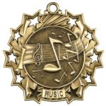 Music Ten Star Series Medal Ten Star Series