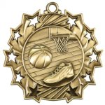 Basketball Ten Star Series Medal Ten Star Series