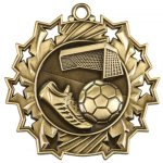 Soccer Ten Star Series Medal Ten Star Series