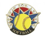Softball USA Sport Medal USA Sport Series