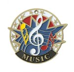 Music USA Sport Medal USA Sport Series