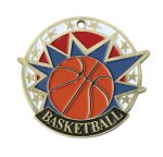 Basketball USA Sport Medal USA Sport Series