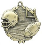 Football Wreath Series Medal Wreath Series