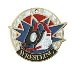 Wrestiling USA Sport Medal Wrestling Awards